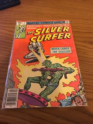 Marvel Comics Group Fantasy Masterpieces Staring Silver Surfer #2