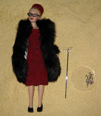 Tonner Tiny Kitty Collier Doll with Original Clothing and Stand