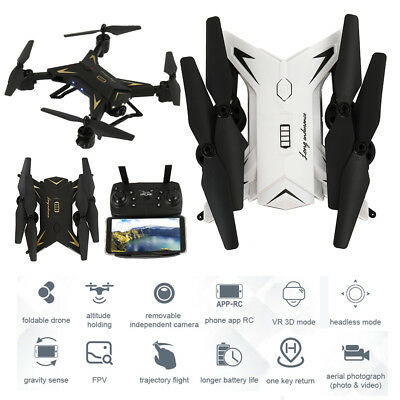 5.0 MP WIFI Plegable 2.4G RC Drone sosteniendo 20mins HD Cámara Quadcopter dron