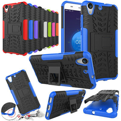 Heavy Duty Case Huawei Y5 II Y6 2017 Armour Shockproof Stand Full Phone Cover