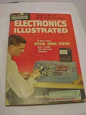 JAN 1960 Electronics Illustrated -How to Build This Electronic Computer