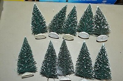 "Christmas Holiday Village trees 6"" LOT 3"