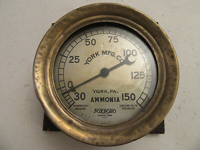 Found: A Lot Of Antiques Old Vintage Items:  A Foxboro Ammonia Pressure Gauge!