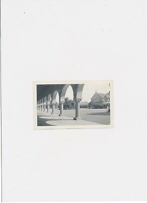 The Quad & Memorial Church Stanford University March 1917 Captioned Vintage Phot