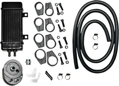 Jagg Wideline Frame-Mount 10-Row Oil Cooler System Black #750-2000