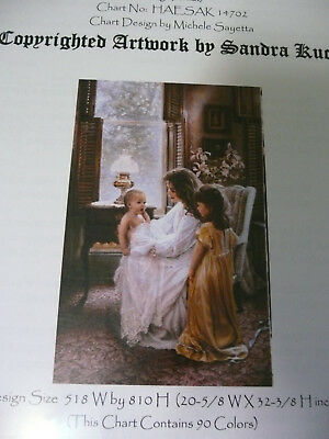 Heaven and Earth Designs Counted Cross Stitch Chart / Pattern -Picture Perfect