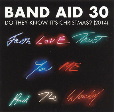 Band Aid 30 Do They Know It's Christmas? (2014) 4-track CD Solo Nuevo/Sellado
