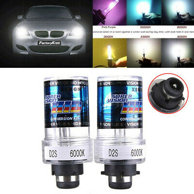 2X 35W D2S/D2C Xenon Car Replacement HID White Headlight Light Lamp Bulbs  IT