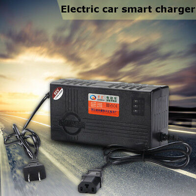 60V 20AH Lead Acid Battery Charger Adapter For Electric Bicycle Bike