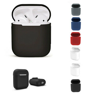 Silicone Airpods Protective Cover Case Slim Skin For Apple AirPod Earphones