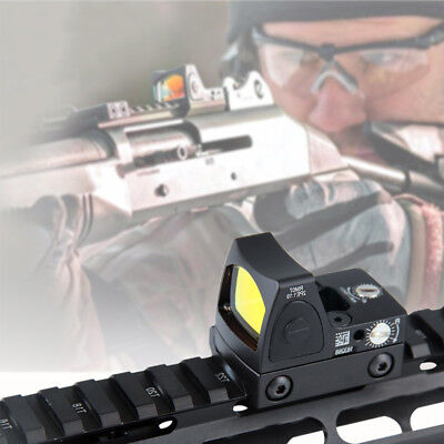 Rifle&Pistol Mini Holographic Reflex Micro Red Dot Sight for Hunting