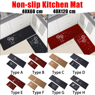 Kitchen Bathroom Carpet Home Mat Decor Anti-slip Floor Rug Entrance Door Carpet
