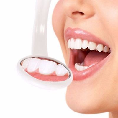 Reusable Oral Health Care Bright Durable Dental Mouth Mirror with LED Light