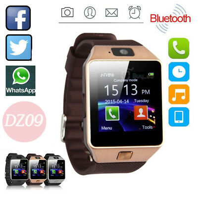 DZ09 Smart Watch Sim Phone Bluetooth Camera Apple&Android Compatible UK Stock#AI