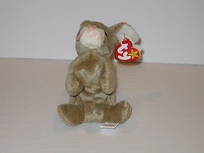 Ty Beanie Baby Nibbly Bunny Plush Stuffed Animal Retired W Tag May 7 1998