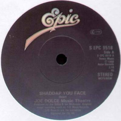 "Joe Dolce ~ Shaddap You Face / Ain't In No Hurry ~ 1980 Dutch 7"" Single"
