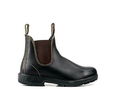 Shoes BLUNDSTONE Woman Ankle boots Low BROWN Leather natural 500 D