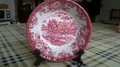 Plato De Porcelana De La Casa Johnson Bros. Made In England