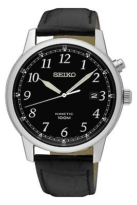 Seiko Gents Kinetic Watch SKA781P1 RRP £209.00 Our Price £156.75 Free UK P&P