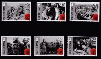 IoM 2014 Centenary of WWl,1st Issue, MNH (6)