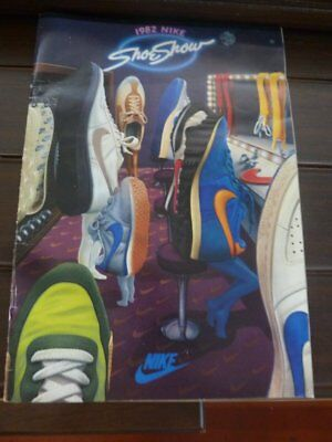 """Advertising Booklet-1982 NIKE SHOE SHOW-20 pages of """"New Shoes"""""""