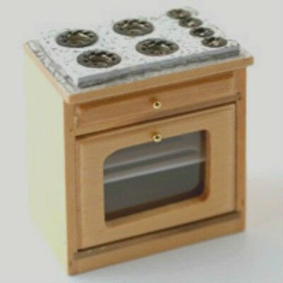 Dolls House Miniature: Cooker / Oven Unit : 12th scale