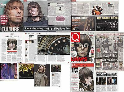 LIAM GALLAGHER : CUTTINGS COLLECTION -interviews- oasis