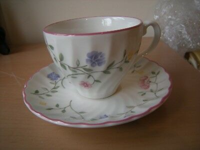 Johnson Brothers Summer Chintz Coffee Tea Cup /& Saucer