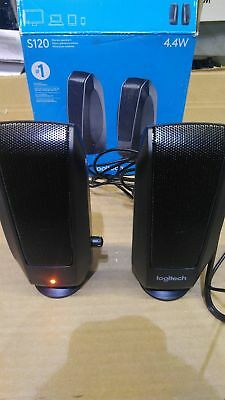 Logitech S120 Computer 2-Channel Multimedia Speaker System