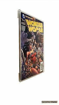 Wall Mount Comic Book Magazine Display Frame Less by GameDay Display Made in USA