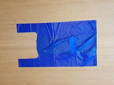 Plastic Vest Carrier Bags All Colours All Sizes - Supermarkets, Shops & Stalls