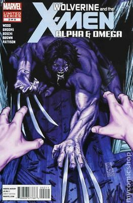 Wolverine and the X-Men Alpha and Omega #2 2012 VF Stock Image