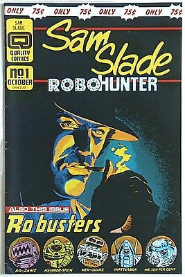 Sam Slade RoboHunter #1 - Quality Comics/2000AD - VF