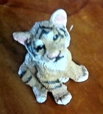 "Living Stone Mini Figurine "" Tiger""  2"" X 2"""