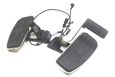 2000 Yamaha Road Star XV 1600 Left and Right Floorboard Brake Pedal