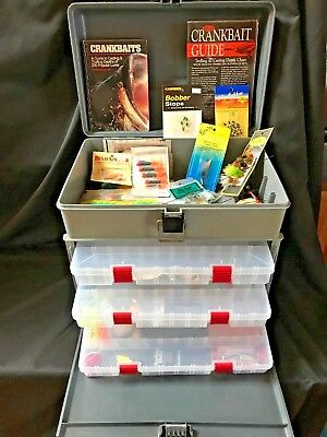 Plano Tackle Box Loaded With Fishing Tackle