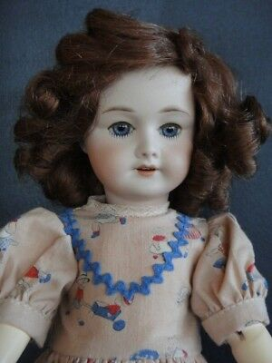 ROSETTE Reproduction porcelain Doll. BLEUETTE's big Sister. Blue eyes- G.BRAVOT