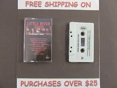 "Little River Band Early Greatest Hits Cassette ""Take Me Home"" ""Curiosity"" C/7"