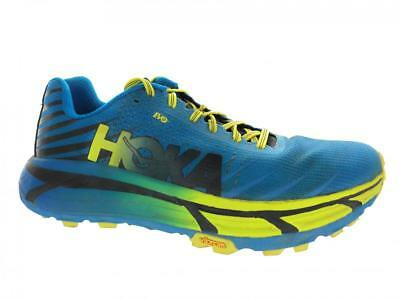 info for 1a6e4 5032d MEN'S HOKA ONE One Evo Mafate Trail Running Shoes Cyan Citrus Size 10.5