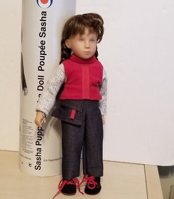 """Gotz Sasha 16"""" Girl Doll """"Anika"""" with Tags and Tube.  01-08236, Made in Germany"""