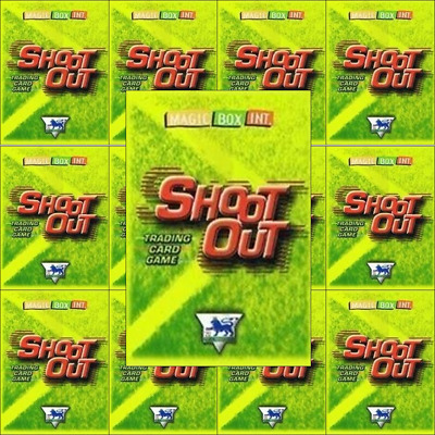 Shoot Out 2003/04 (03/04) Green Back Football Cards – Various Teams N to W