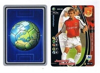 Wizards Premier League 2001-02 Football Player Cards – Various Teams A to D