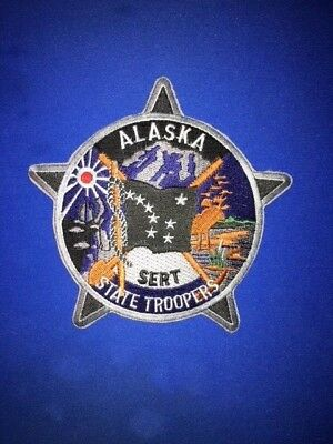 Alaska State Troopers Sert Police Patch
