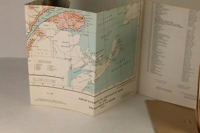 Department of Mines Province of Quebec Canada 1958 Index Map of Areas Covered