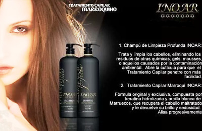 Inoar Moroccan Keratin Brazilian Treatment Hairstyle In Smoothing. Kit For 2Step