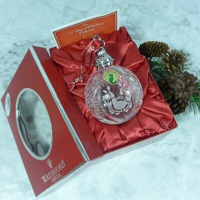 #2 Vintage Waterford Crystal #151973 Commemorative Ball Ornament NEW in Box