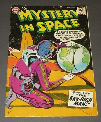 Mystery in Space #49 FN/FN+ 1959 DC Silver Age Sci-Fi Comic Book Gil Kane Cover