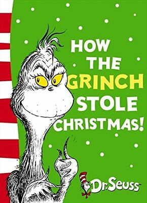 ()-How the Grinch Stole Christmas!: Yellow Back Book (Paperback)-Dr. Seuss-00071