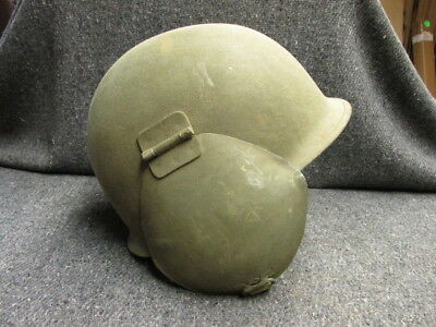Wwii Us Army Air Force M3 Flyer'S Flak Helmet-Mint Unissued W/ Instructions