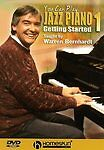 NEW You Can Play Jazz Piano Vol. 1 (DVD, 2005) $ 60.95
